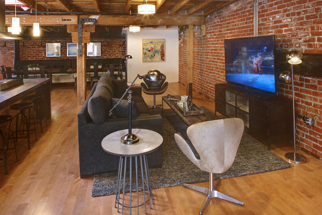 Specious Media Room at Potrero Launch, San Francisco, 94107
