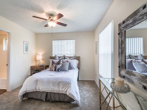 Spacious master suite allows you to relax after a long day at Aqua Links, Sanford, 32771