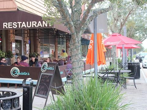 Endless Nearby Restaurant Choices at Aqua Links, Sanford
