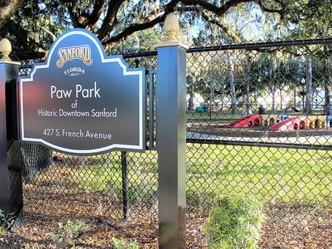 Dog Park Access at Stoneridge Pointe, Florida