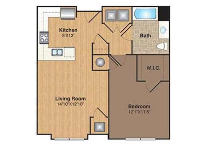 A-1 floor plan.