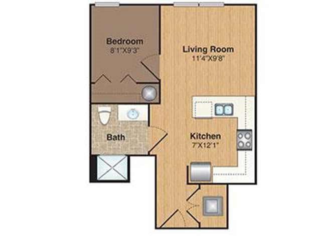 B-S floor plan.