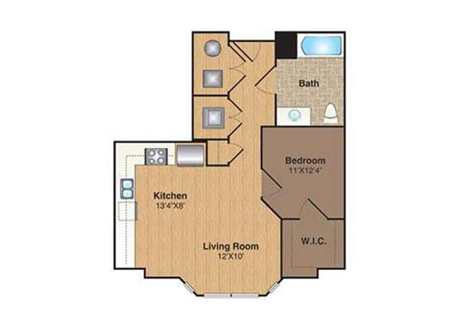C-S floor plan.
