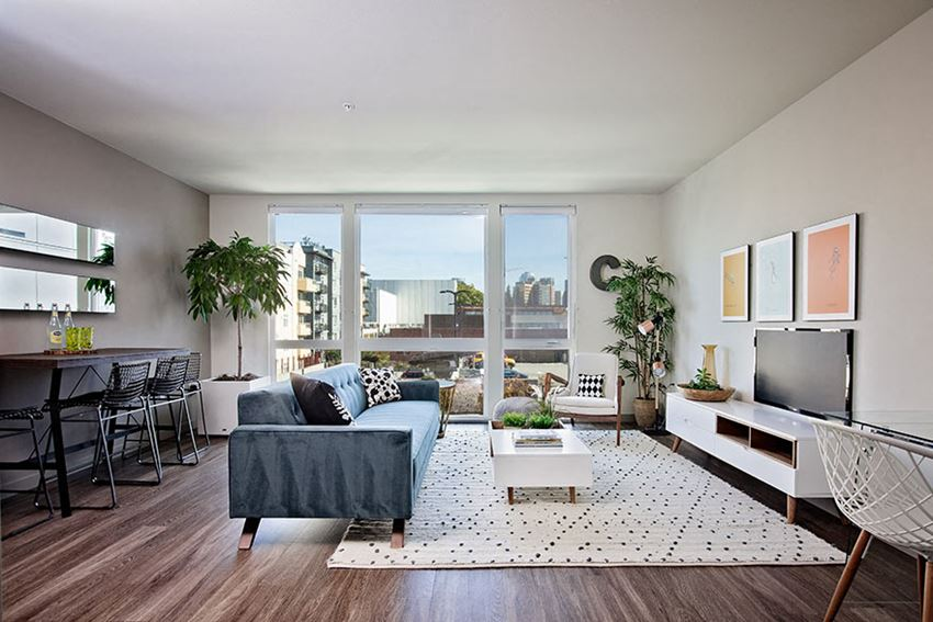 Open Concept Layouts At Clarendon Apartments in Seattle, WA