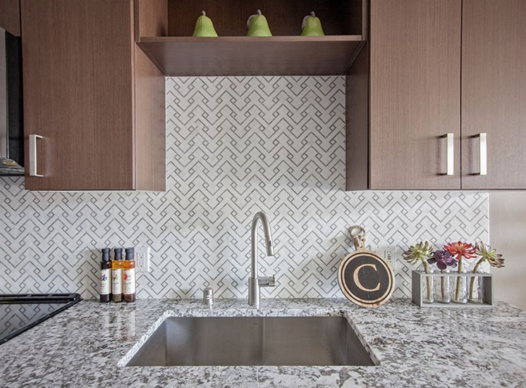 Modern Kitchens At Clarendon Apartments in Seattle, WA