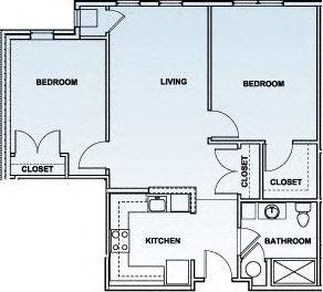 Two Bedroom- 2E