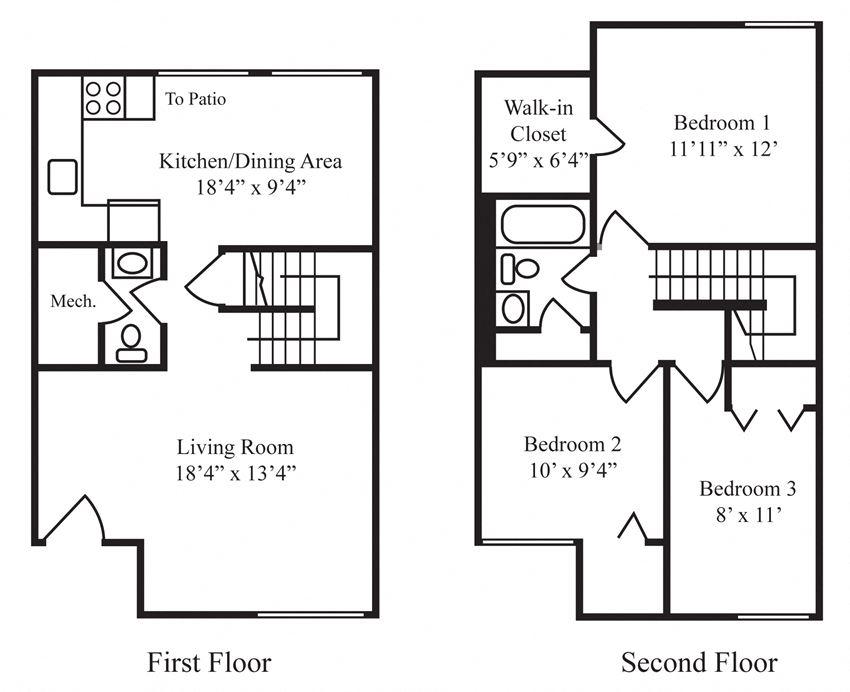 Three-Bedroom