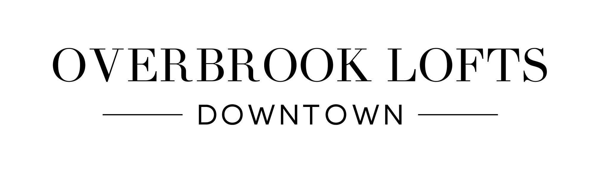 Logo for Overbook Lofts near downtown Greenville, SC