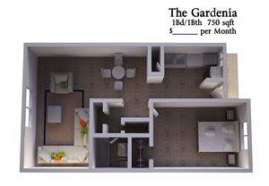 1B1B Gardenia