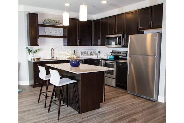 Kitchens Island at The Edison at Avonlea, Minnesota, 55044