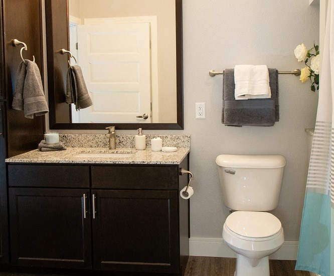 Spacious Bathrooms at The Edison at Avonlea, Minnesota, 55044