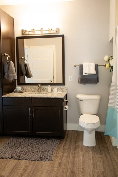 Spacious Bathrooms at The Edison at Avonlea, Minnesota, 55044