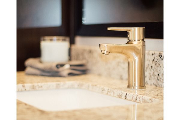Granite Counter Tops Throughout at The Edison at Avonlea, Lakeville, MN, 55044