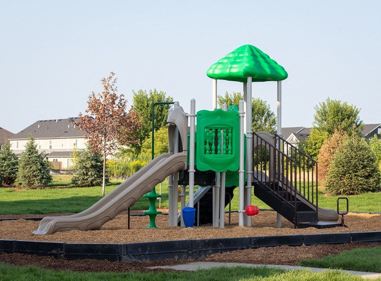 Outdoor Playset at The Edison at Avonlea, Lakeville