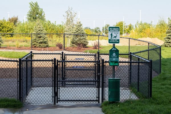 Outdoor Gated Dog Park at The Edison at Avonlea, Lakeville, Minnesota