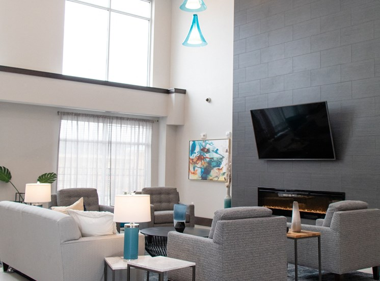 Expansive Clubhouse at The Edison at Avonlea, Lakeville
