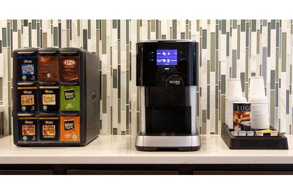 Media Lounge and Coffee Bar at The Edison at Avonlea, Minnesota, 55044