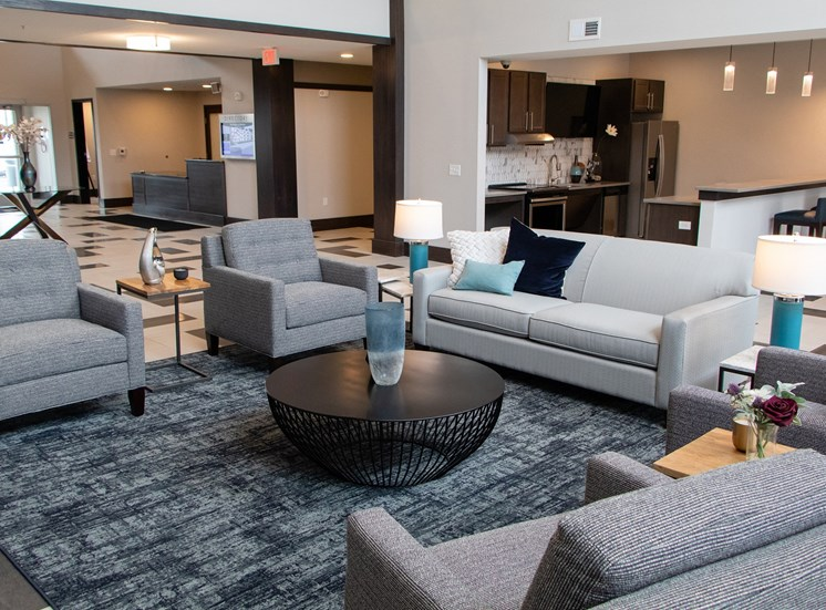 Large Interactive Clubhouse at The Edison at Avonlea, Lakeville, MN, 55044
