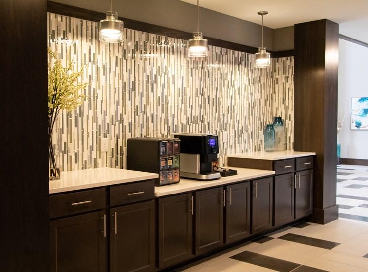 New Designer Lounge at The Edison at Avonlea, Lakeville, MN