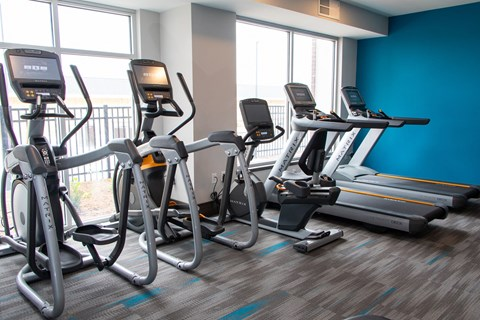 Cardio Equipment at The Edison at Avonlea, Lakeville