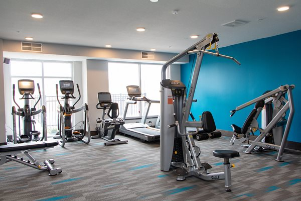 Fully Equipped Fitness Center at The Edison at Avonlea, Lakeville