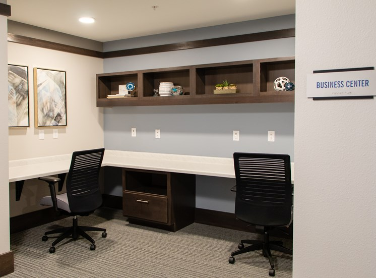 Business Center at The Edison at Avonlea, Lakeville, MN, 55044