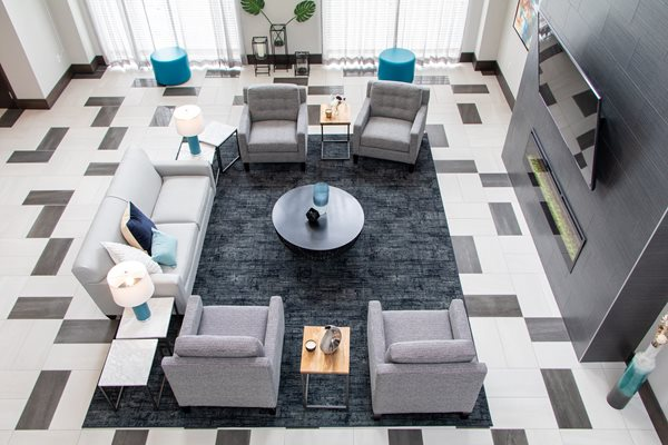 Designer Lounge at The Edison at Avonlea, Lakeville, 55044