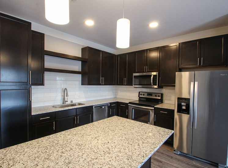 Granite Counter Tops Throughout at The Edison at Avonlea, Lakeville, 55044