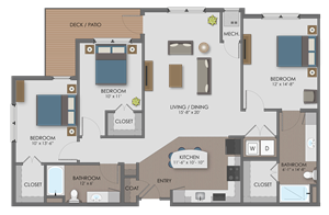 Floor plan at The Edison at Avonlea, Lakeville