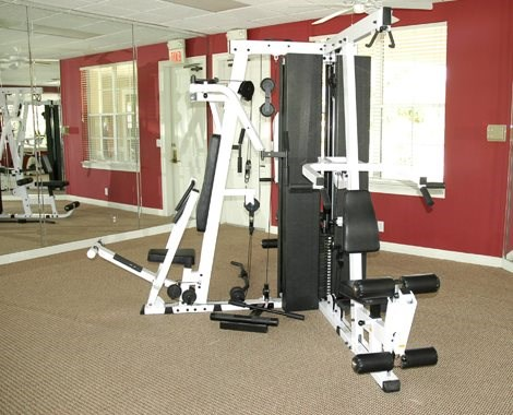 exercise machines at fitness center_Logan Heights Sanford, FL