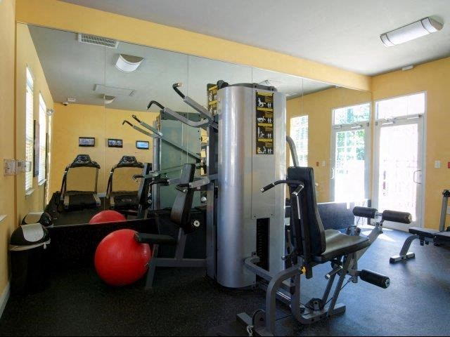 Fitness Center at Hayleigh Village Apartments, Greensboro