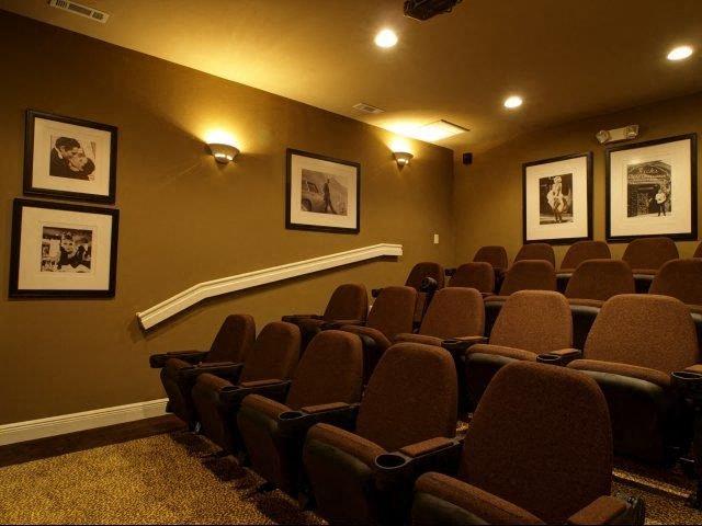 Movie Theater at Hayleigh Village Apartments, North Carolina