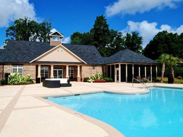 Resort-Style Pool at Hayleigh Village Apartments, North Carolina