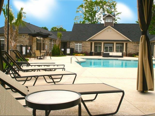 Resort-Inspired Pool at Hayleigh Village Apartments, Greensboro