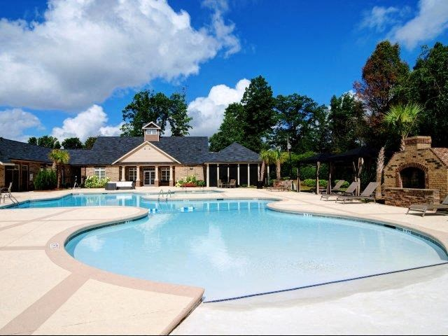 Resort-Style Zero-Entry Pool  at Hayleigh Village Apartments, North Carolina, 27410