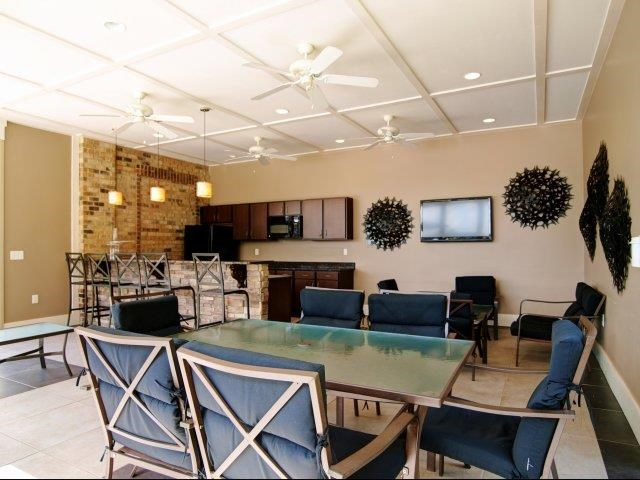 Modern Community Space at Hayleigh Village Apartments, Greensboro, NC, 27410