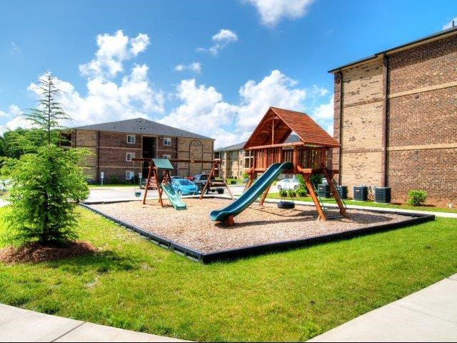 Children's Play Area at Hayleigh Village Apartments, Greensboro, NC