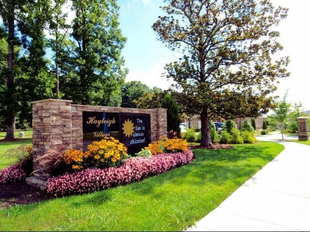 Grand Entrance at Hayleigh Village Apartments, Greensboro, NC, 27410