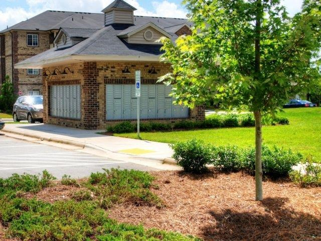Outdoor Spaces at Hayleigh Village Apartments, Greensboro