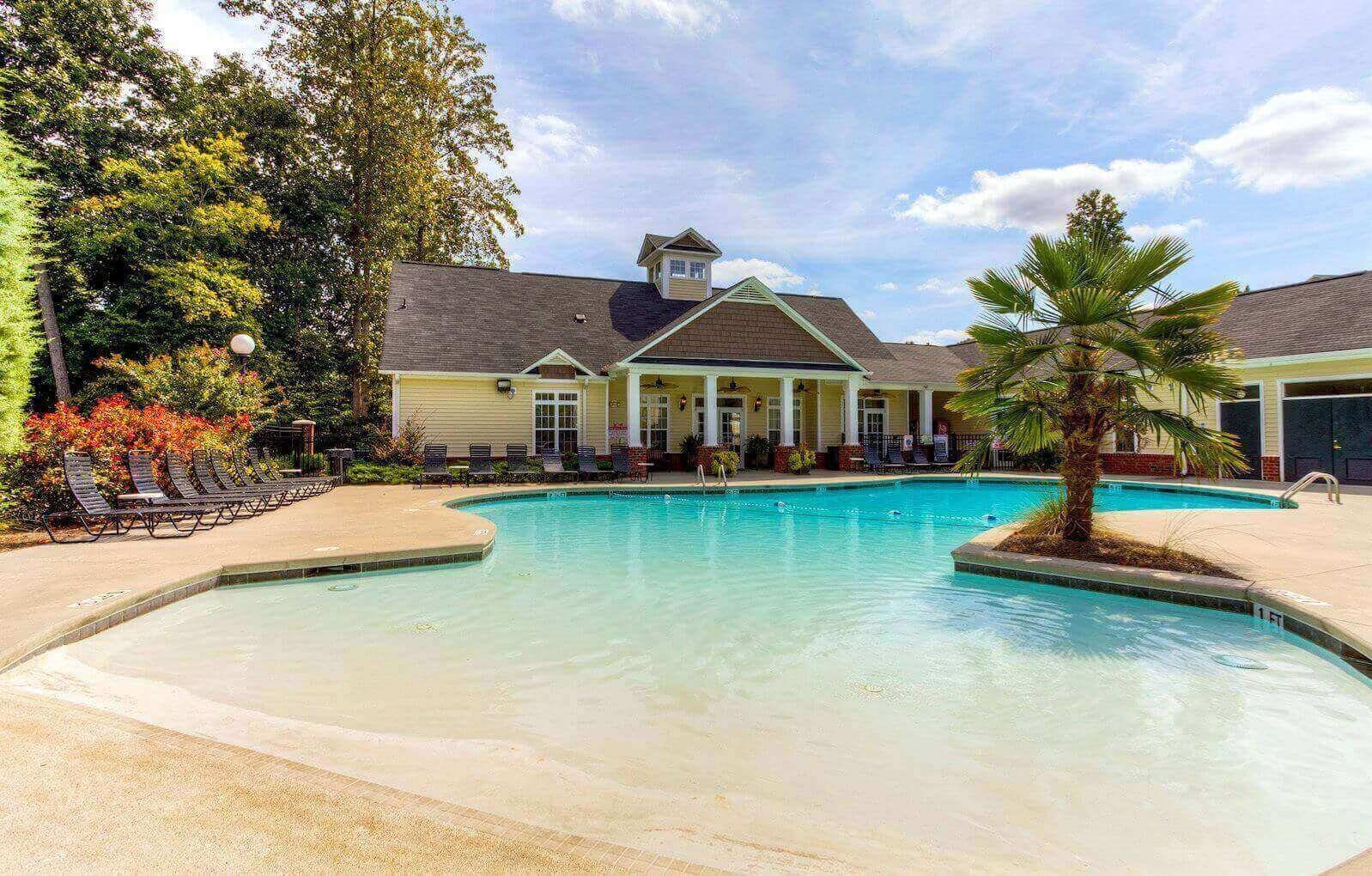 Resort-Style Zero-Entry Pool Alaris Village Pool