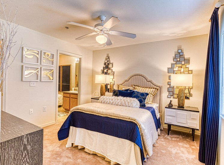master bedroom with updated interior