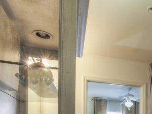 Trendy Bathroom Interior at Alaris Village Apartments, Winston-Salem, NC