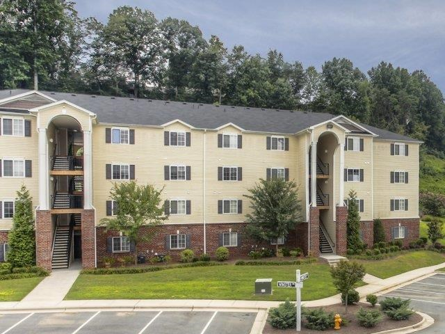 Beautifully Constructed Front Entrance at Alaris Village Apartments, Winston-Salem