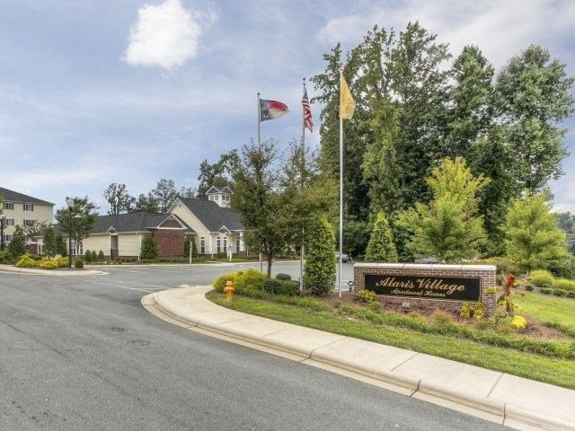 Entrance with Architectural Details at Alaris Village Apartments, Winston-Salem, NC, 27106