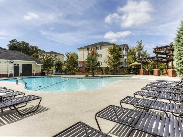 Pool Side Relaxing Area at Alaris Village Apartments, North Carolina, 27106