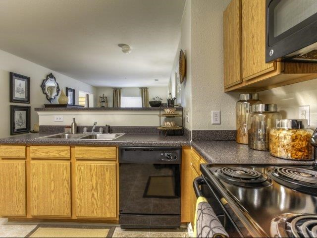 Kitchen Cupboards at Alaris Village Apartments, North Carolina, 27106
