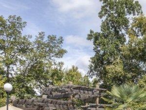 Pool Seating at Alaris Village Apartments, North Carolina, 27106