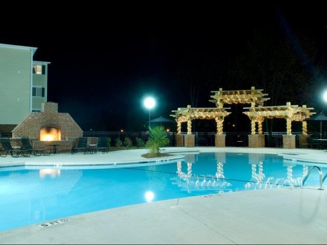 Resort-Inspired Pool at Alaris Village Apartments, Winston-Salem, North Carolina