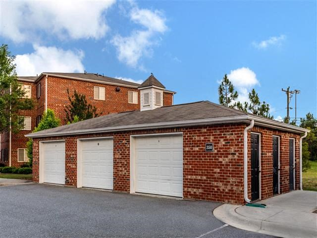 Detached Garages at Featherstone Village Apartments, Durham, NC, 27703
