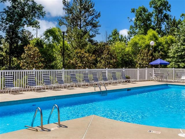Pool Deck at Featherstone Village Apartments, Durham, NC